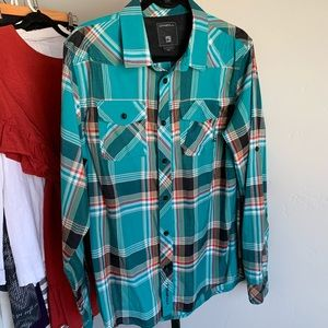 Men's oneal button up *Worn once*